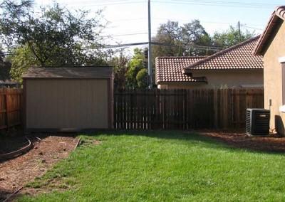 Backyard Renovation Sacramento - Before (2)