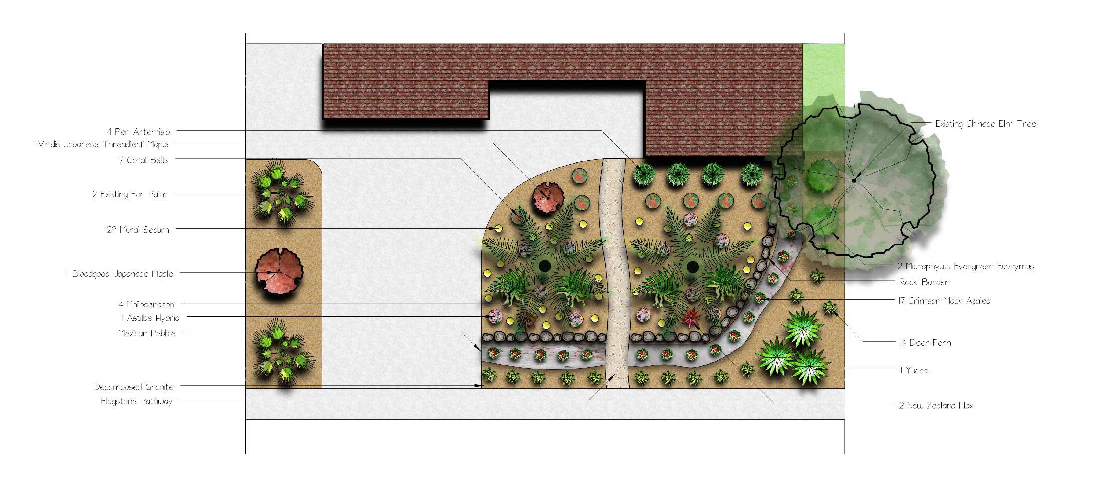 Landscape design sacramento landscape design for Landscape design examples