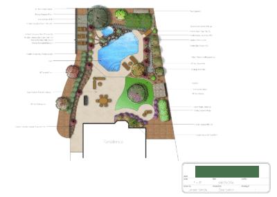 Backyard Pool Redesign