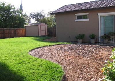 Backyard Renovation Sacramento - Before (3)