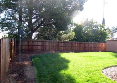 Backyard Renovation Sacramento - Before (4)