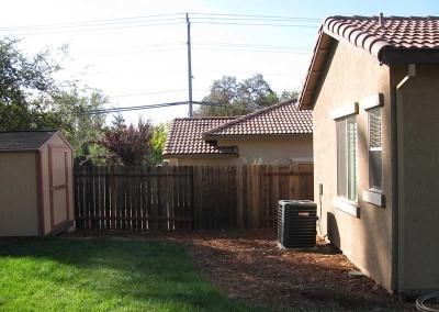 Backyard Renovation Sacramento - Before (9)