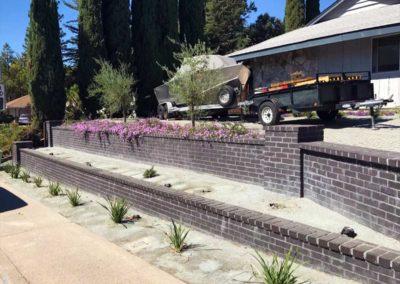 Brick Retaining Wall 2