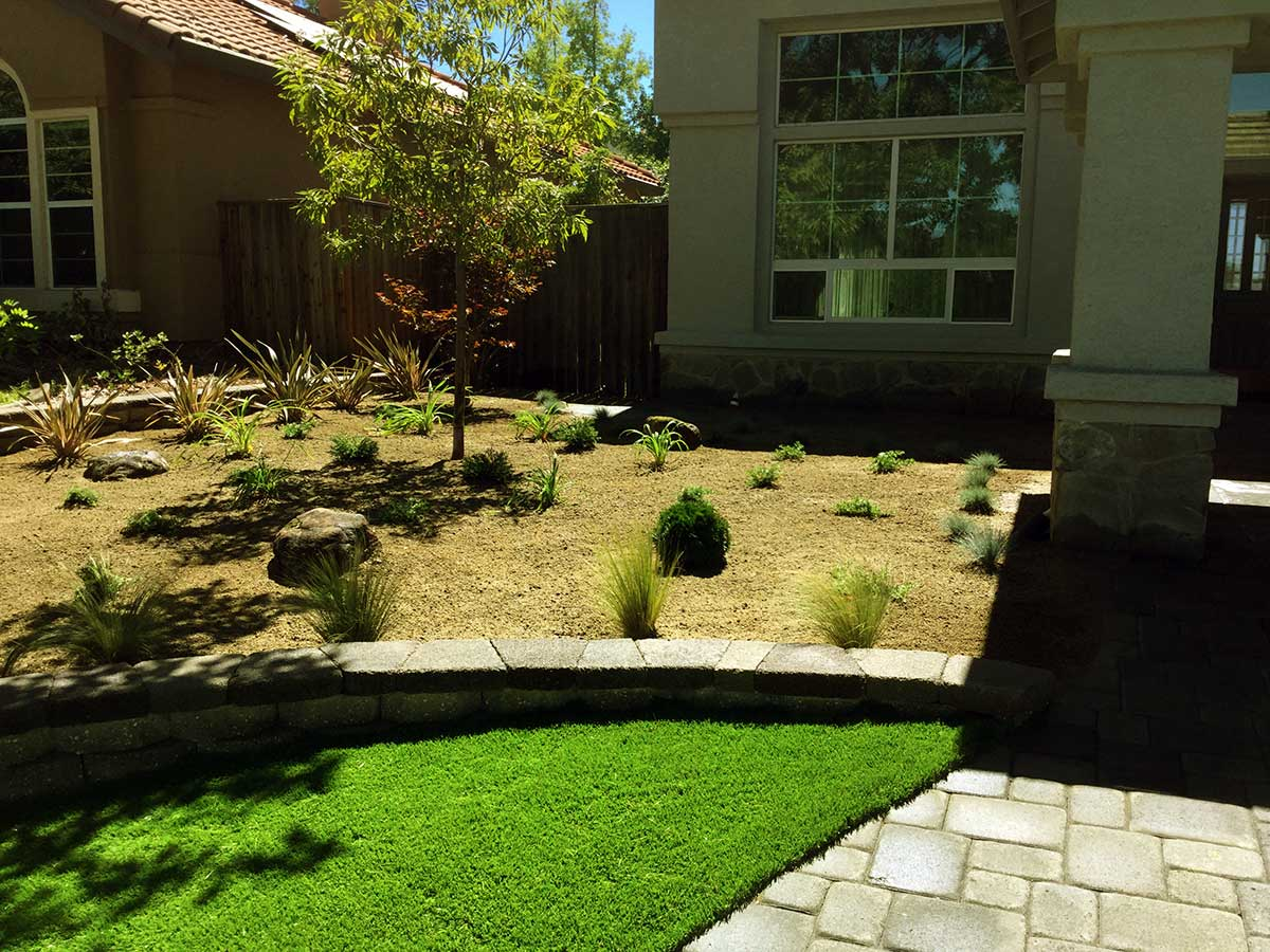 Front Yard Renovation - Sacramento Landscape Design & Construction